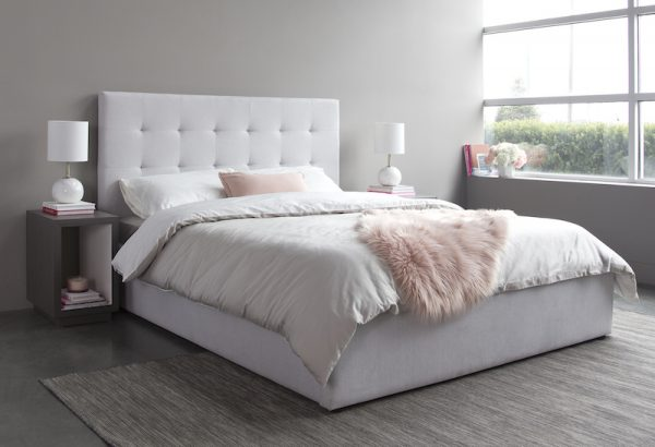 June Queen Storage Bed – Horizon Grey