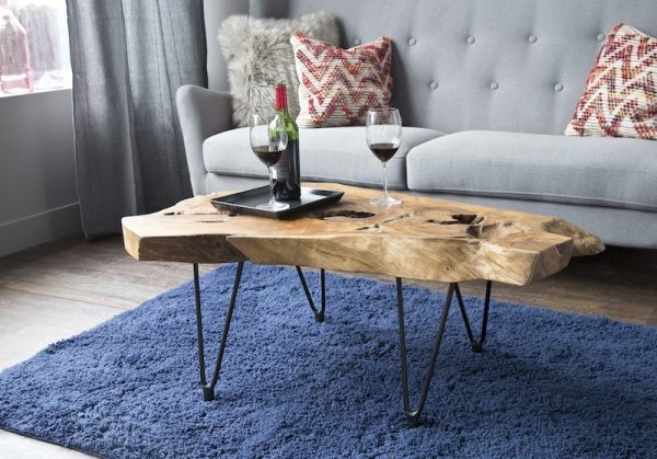 Natura Hairpin Coffee Table Lifestyle Shot