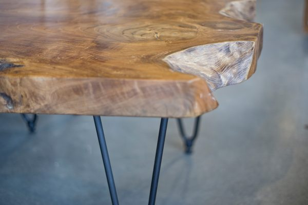 Natura Hairpin Coffee Table Close Up