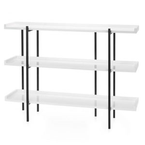 vigo 3 tier console table